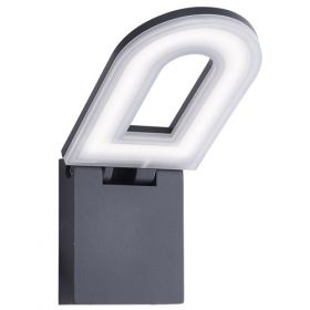 Led Outdoor - Wall Bracket, Dark Grey, Frosted Diffuser BPOSL092