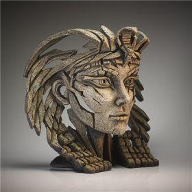 Edge Sculpture Cleopatra Bust Desert