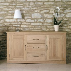Boston Oak Large Sideboard