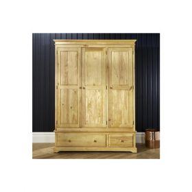 Rochester 3 Door 2 Drawer Wardrobe
