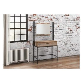 Lucca Dressing Table With Mirror