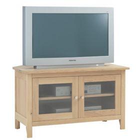 Nimbus Glazed Corner TV Unit