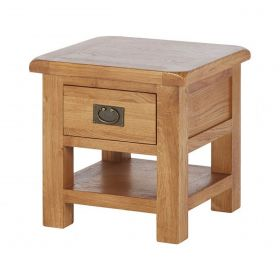 Oakhampton  Lamp Table With Drawer