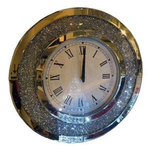 Clocks Round Glitzy Clock