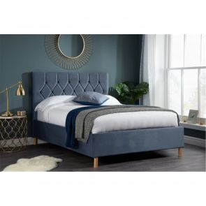 Katie Fabric Ottoman Bed