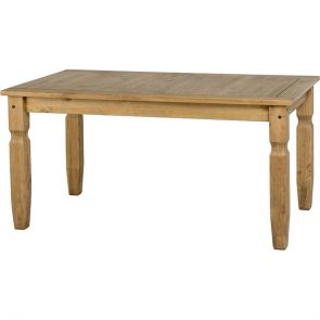 Waxed Pine Dining 5' Dining Table