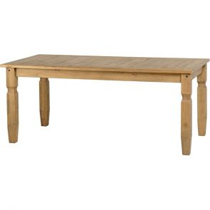 Waxed Pine Dining 6' Dining Table