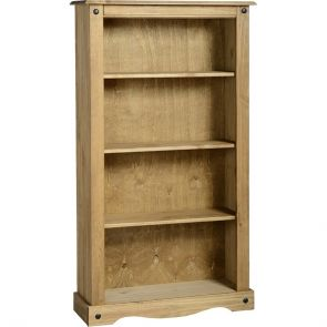 Waxed Pine Dining Medium Bookcase