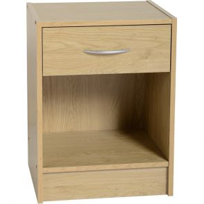 Nottingham 1 Drawer Bedside Cabinet