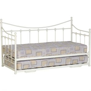 Elizabeth Day Bed      In Cream Or Black