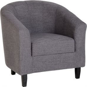 Taylor Tubs Tub Chair - Grey Fabric