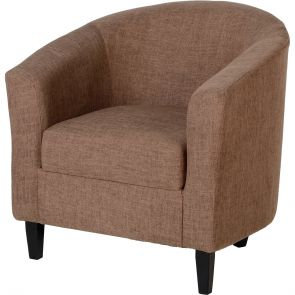 Taylor Tubs Tub Chair - Sand Fabric