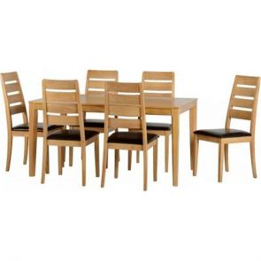 Tranmere Dining Table With 6 Chairs