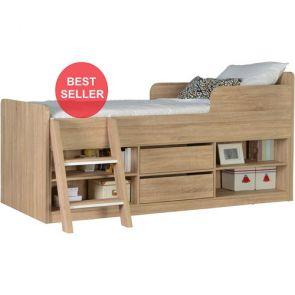 Denver Low Sleeper With Storage Oak