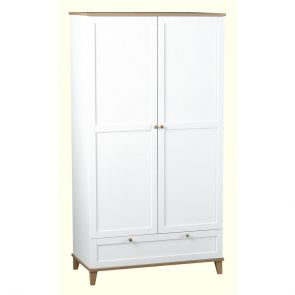 Colby 2 Door 1 Drawer Wardrobe
