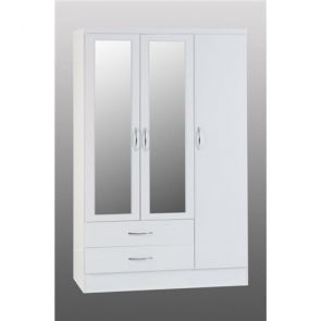 Havana 2 Drawer Triple Wardrobe
