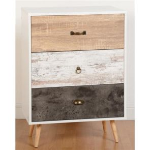 Portabello 3 Drawer Chest