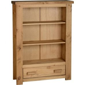 Tilla Pine 1 Drawer Bookcase