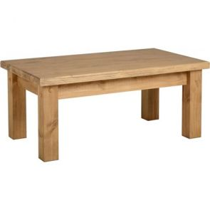Tilla Pine Coffee Table