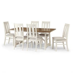 Portland Dining Table & 6 Chairs