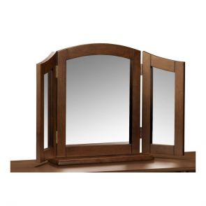 Mirrors Wenge Triple Mirror