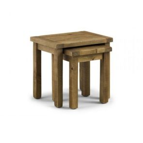 Rustic Pine Nest Of Tables