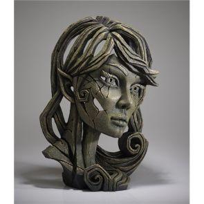 Edge Sculpture Elf Bust Leaf