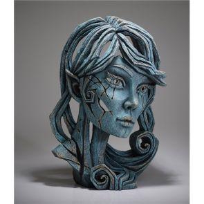 Edge Sculpture Elf Bust Aqua