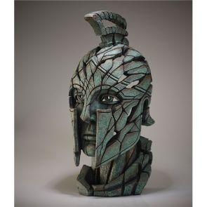 Edge Sculpture Spartan Bust Verdi Gris