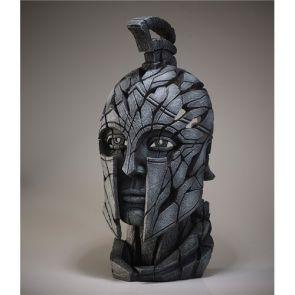 Edge Sculpture Spartan Bust Slate