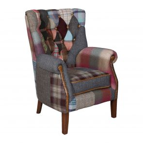 Winchester Patchwork Arm Chair