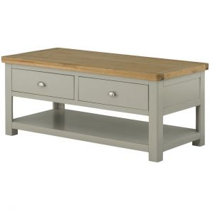 Torre Coffee Table with Drawers