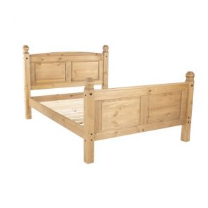 "Stow Pine 4'6"" High End Bedstead"