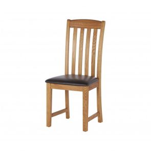 Oakhampton  Dining Chair With Pu Seat