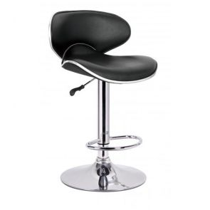 Stools Black Arched Back Stool