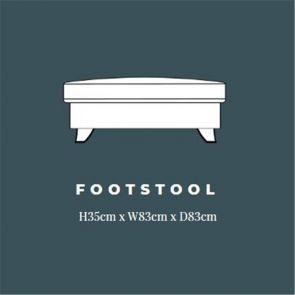 Amora  Standard Footstool