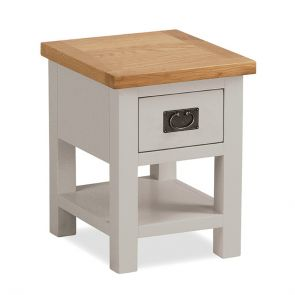 Newbury Lamp Table With Drawer