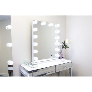 Hollywood Mirrors Large Dresser Portrait Mirror