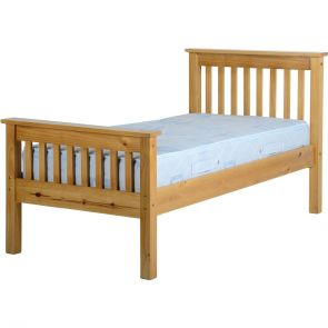 Newquay 3' Single Antique Pine Bed Frame HFE