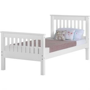 Newquay 3' Single White Bed Frame HFE