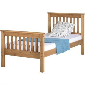 Newquay 3' Single Waxed Pine Bed Frame HFE