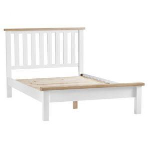 Fairford White Bedroom 4'6 bed