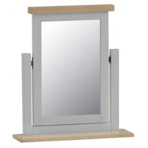 Fairford Grey Bedroom Trinket Mirror