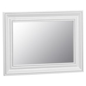 Fairford White Bedroom Small Wall Mirror