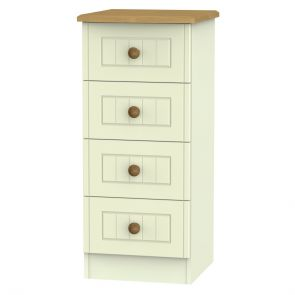 Malvern 4 Drawer Bedside