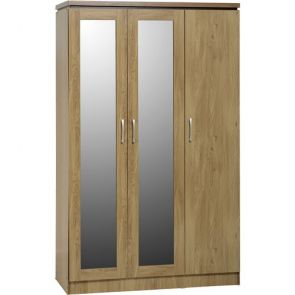 Bridford 3 Door All Hanging Wardrobe