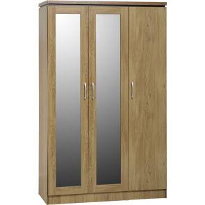Bridford 3 Door All Hanging Wardrobe