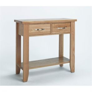 Kingsbridge Dining Small Oak Console Table