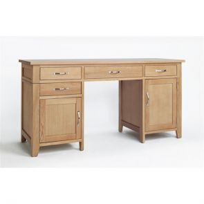 Kingsbridge Dining Double Ped Desk