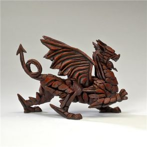 Edge Sculpture Dragon Red